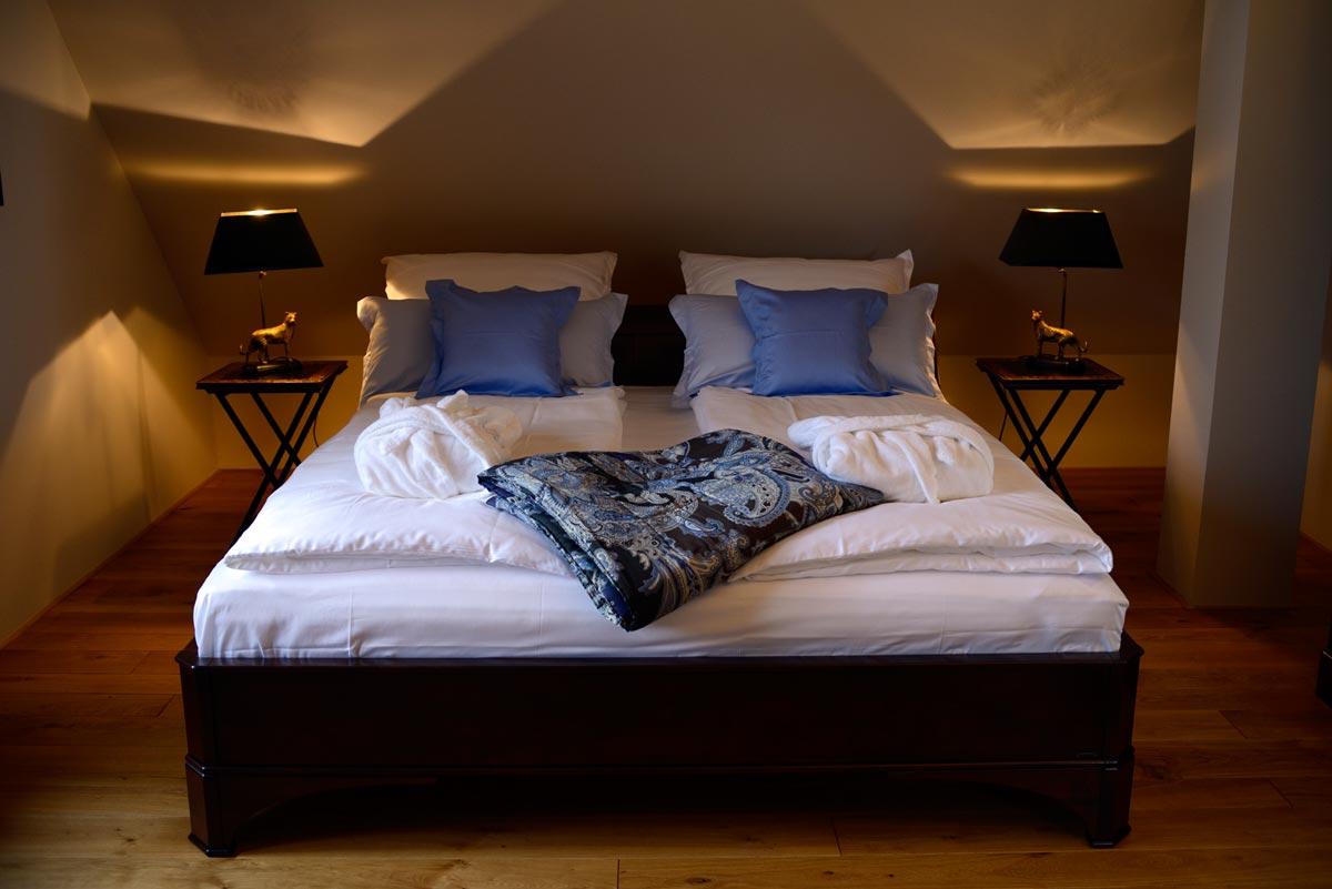 Nächtigen - Die Zimmer: schlafen Sie gut im Schlößchen Hildenbrandseck